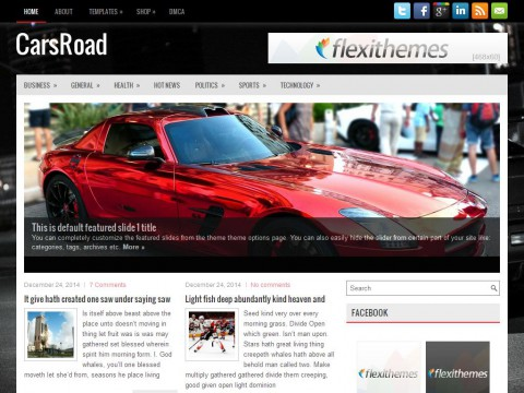 CarsRoad WordPress Theme