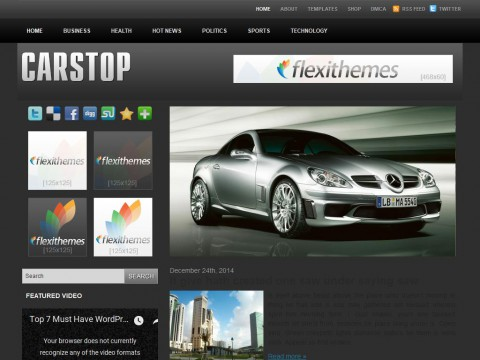 Cars Top WordPress Theme