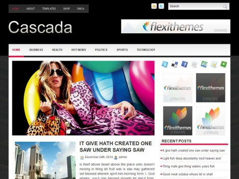 Cascada WordPress Theme