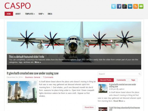Caspo WordPress Theme