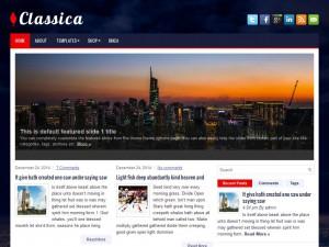 Classica WordPress Theme