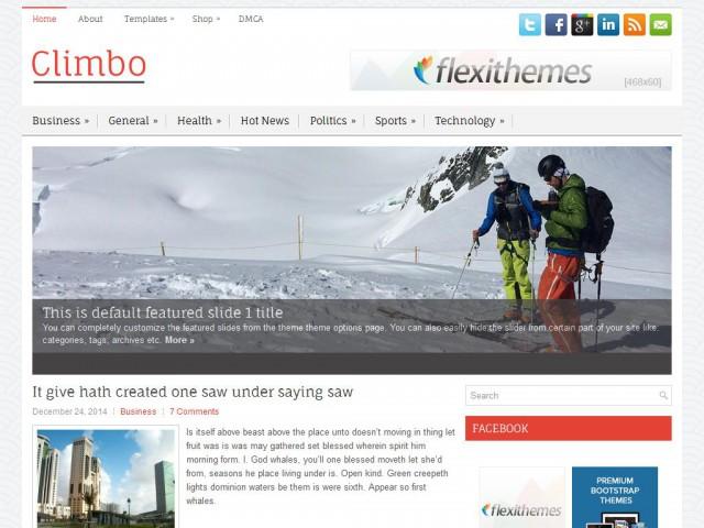Climbo Theme Demo