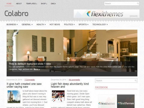 Colabro WordPress Theme