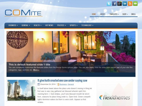 Comite WordPress Theme