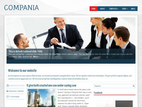 Compania WordPress Theme