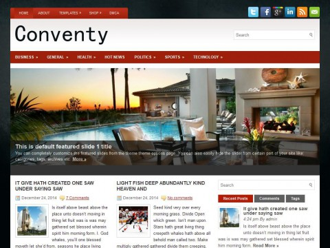 Conventy WordPress Theme