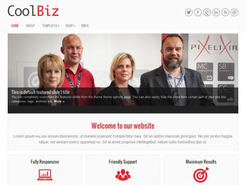 CoolBiz WordPress Theme