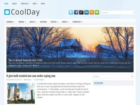 CoolDay WordPress Theme