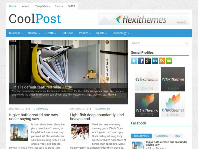 CoolPost Theme Demo