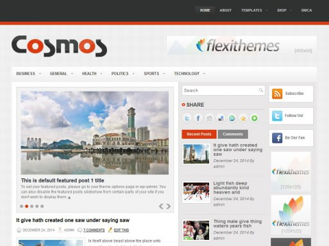 Cosmos WordPress Theme