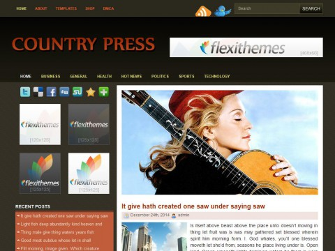 Country Press WordPress Theme