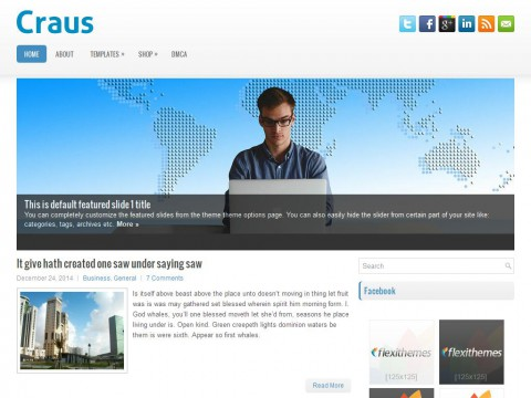 Craus WordPress Theme