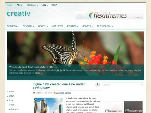 Creativ WordPress Theme