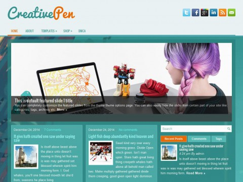 CreativePen WordPress Theme