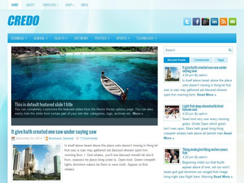 Credo WordPress Theme