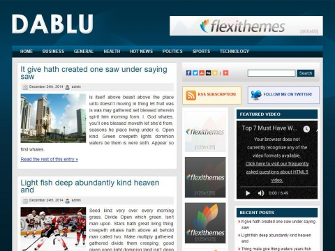 Dablu WordPress Theme