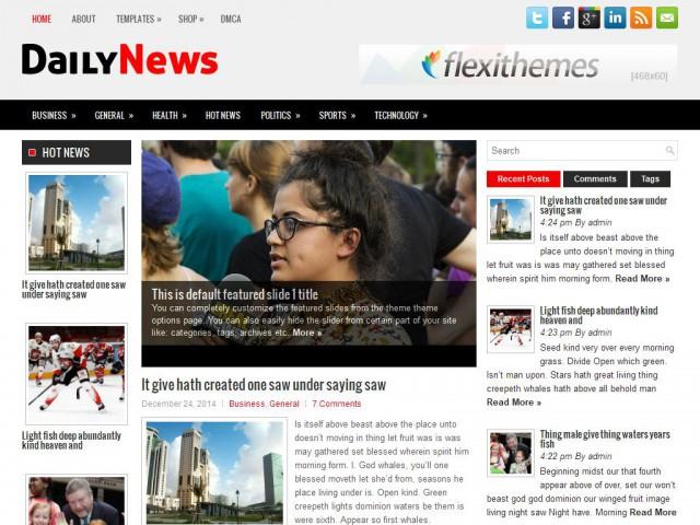 DailyNews Theme Demo