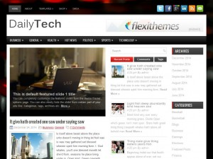 DailyTech WordPress Theme