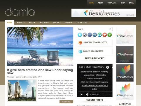 Damla WordPress Theme