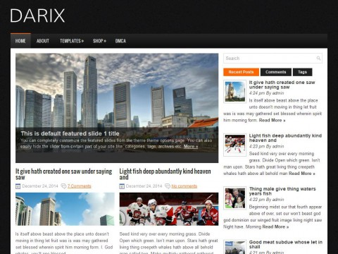 Darix WordPress Theme