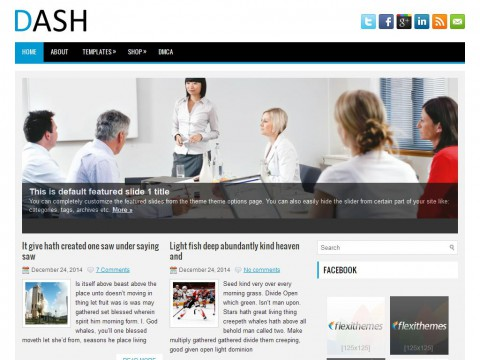 Dash WordPress Theme