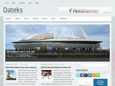 Dateks WordPress Theme