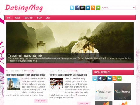 DatingMag WordPress Theme