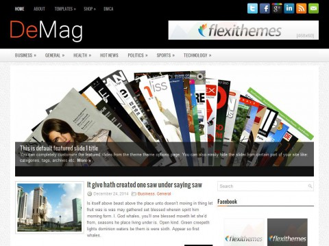 DeMag WordPress Theme