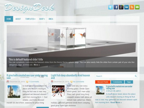 DesignDesk WordPress Theme