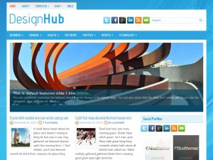 DesignHub WordPress Theme