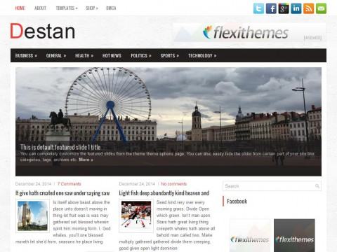 Destan WordPress Theme