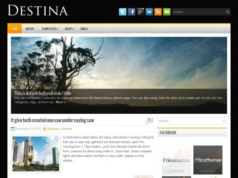 Destina WordPress Theme