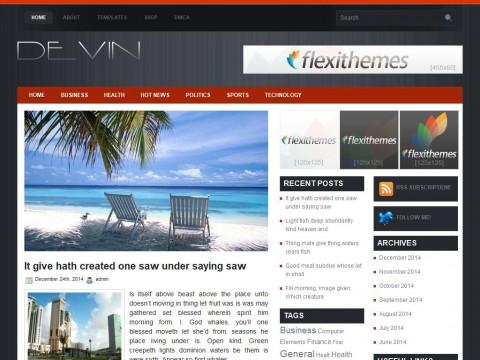 Devin WordPress Theme