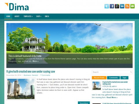 Dima WordPress Theme