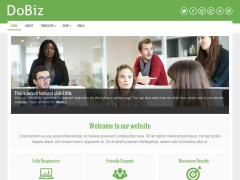 DoBiz WordPress Theme