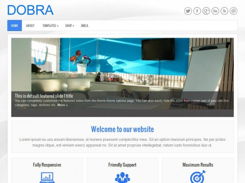 Dobra WordPress Theme
