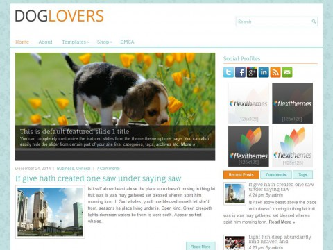 DogLovers WordPress Theme