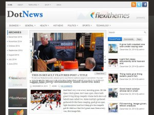 DotNews WordPress Theme