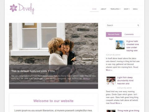 Dovely WordPress Theme