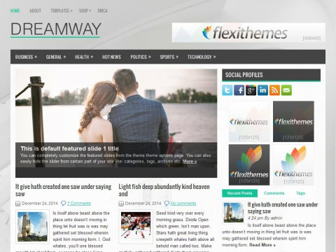 Dreamway WordPress Theme