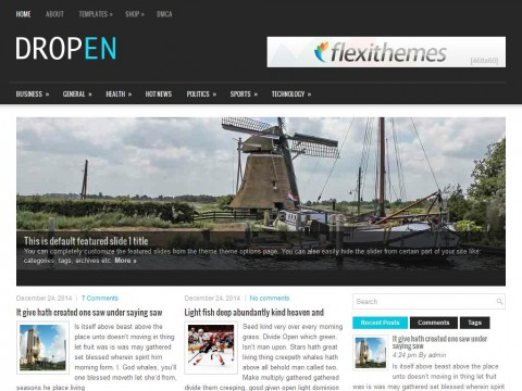 Dropen WordPress Theme