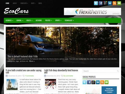 EcoCars WordPress Theme