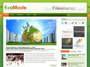 EcoMode WordPress Theme