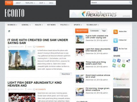 Econto WordPress Theme