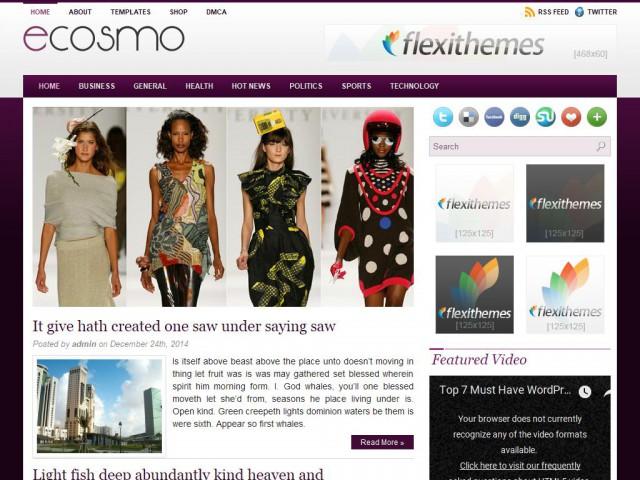 Ecosmo Theme Demo