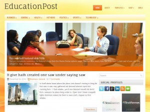 EducationPost WordPress Theme