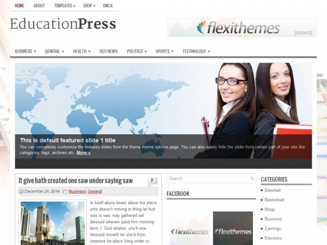 EducationPress Theme Demo