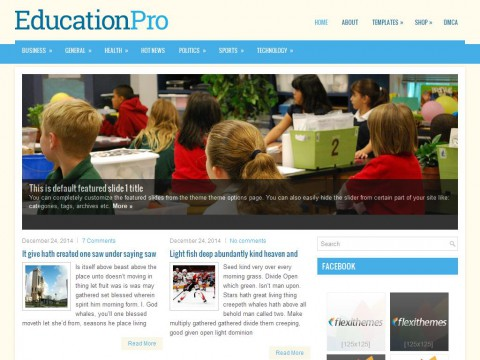 EducationPro WordPress Theme