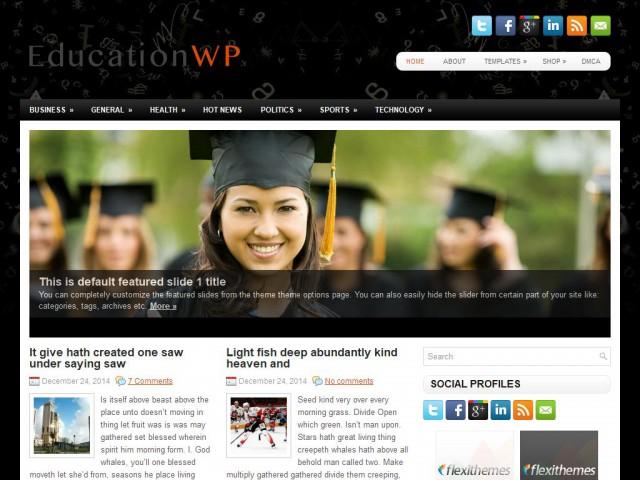 EducationWP Theme Demo
