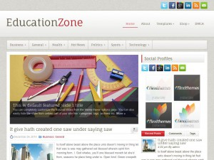 EducationZone WordPress Theme